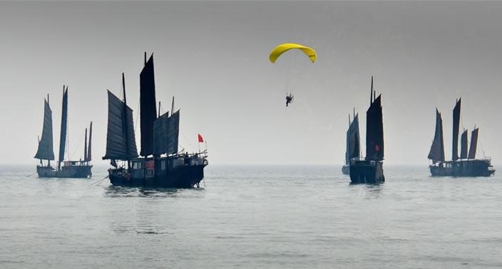 航拍无锡太湖高清图片素材